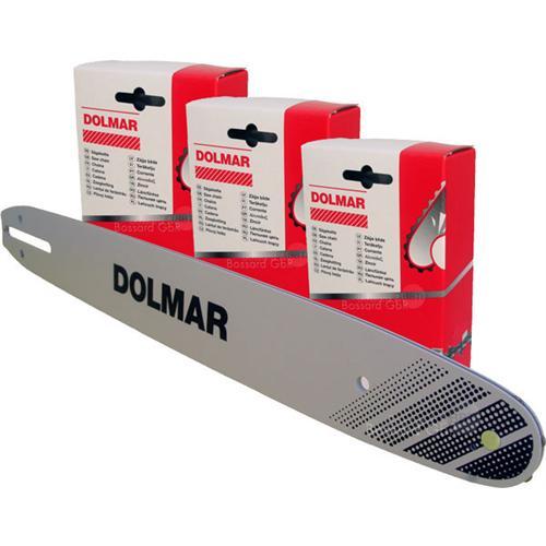 """DOLMAR 1+3 Schienen-Ketten-Set 40 cm 3/8"""" 1.3 mm"""