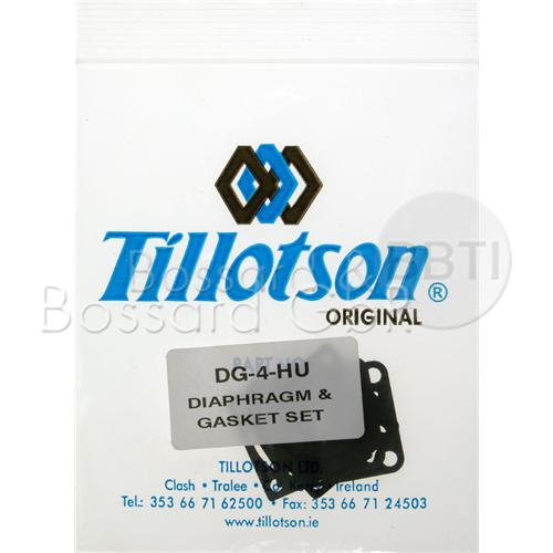 KIT MEMBRANES DG-4HU POUR TILLOTSON